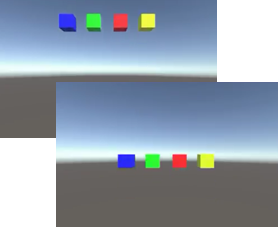 "Unity] Script: I tried to move game objects by ""Rigidbody""  – Lab7"
