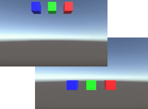 """Unity] Script: I tried to move game objects by """"Transform"""