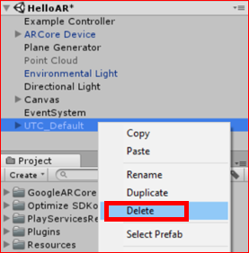 Unity, AR] I tried 'HelloAR' sample of 'ARCore' Part2 – Lab7