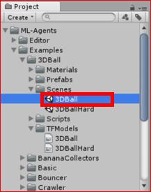 "Unity] I tried 3DBall sample of Unity ""ML-Agents"" (Using"