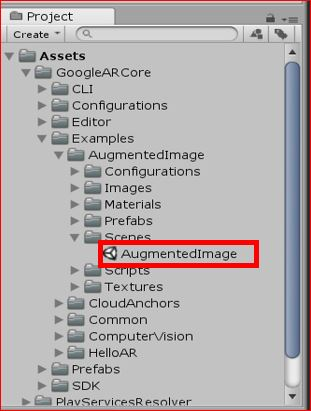 Unity, AR] The setting way of 'Augmented Image' of 'ARCore' Part1