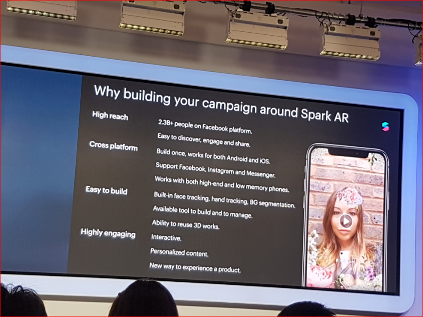 VR/AR Event】 Report about joining Facebook 'Spark AR day