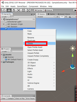 VR/AR Event】How to set up Unity AR Foundation Part 1 – Lab7